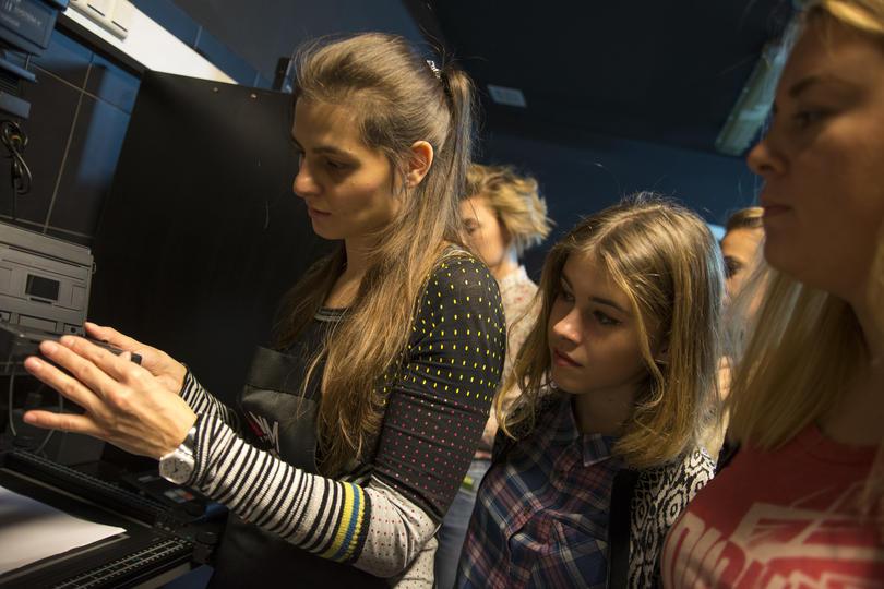 Основы фотографии, работа в фотолаборатории